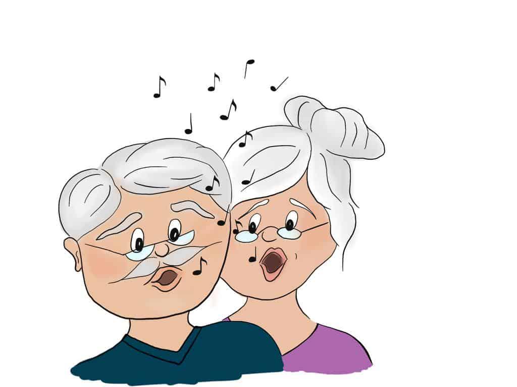 Musizierenn mit Senioren